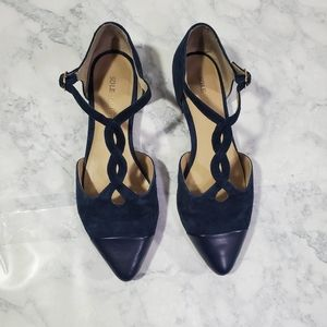 Sole Society Shoes Womens 5B Blue Dylann